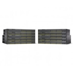 Cat2960-x 24port Poe+ 2 Sfp+ Lan Base 370w