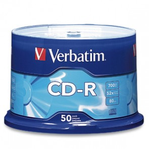VBTM CD GRABABLE CD-R 700MB 52X (PQTE 50 PZS)