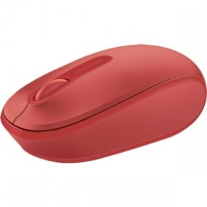 Mouse Microsoft Wrlss 1850 Red Inalmbrico Flame Red Win 7/8