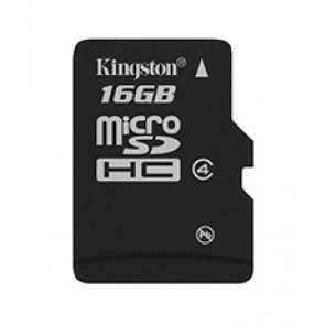 KINGSTON 16G MICRO SD CLASE 4 SIN ADAPTADOR