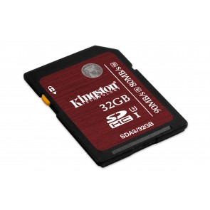 Kingston 32gb Sdhc Uhs-i Clase3 .