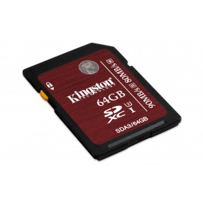 Kingston 64gb Sdhc Uhs-i Clase3 .