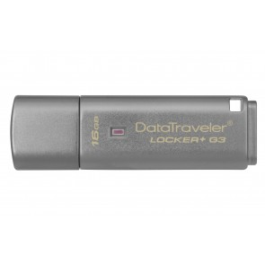 Kingston 16g Usb Data Traveler Locker G3 W/automatic Data Security